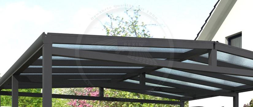 aluminium carport rexoport neu im shop rexin blog. Black Bedroom Furniture Sets. Home Design Ideas