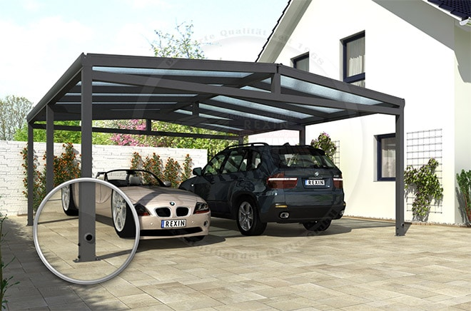 alu carport wohnwagen kit neu im shop der rexin blog. Black Bedroom Furniture Sets. Home Design Ideas