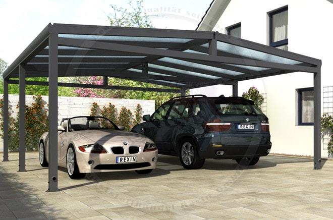 aluminium-carport REXOport