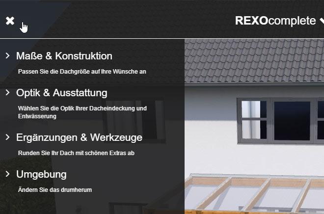 TerrassenUberdachung Holz Konfigurieren ~ Terrassendach Konfigurator – der Weg zur Wunschterrasse  Der Rexin