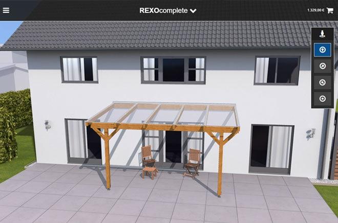 TerrassenUberdachung Holz Konfigurieren ~ Terrassendach Konfigurator – der Weg zur Wunschterrasse  Rexin Blog