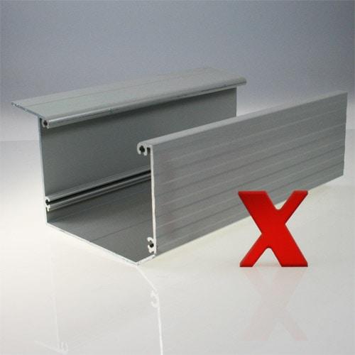 Alu regenrinne im neuen design das rexin magazin for Design couchtisch remember in silber aus aluminium