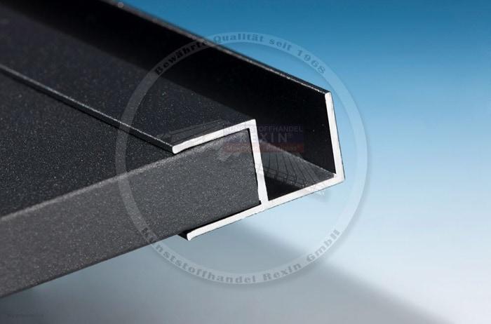 pulverbeschichtete aluminium profile neu im shop das. Black Bedroom Furniture Sets. Home Design Ideas