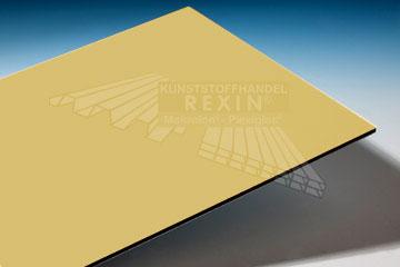 aluminium verbundplatten in hellgelb 30 restst cke das rexin magazin. Black Bedroom Furniture Sets. Home Design Ideas