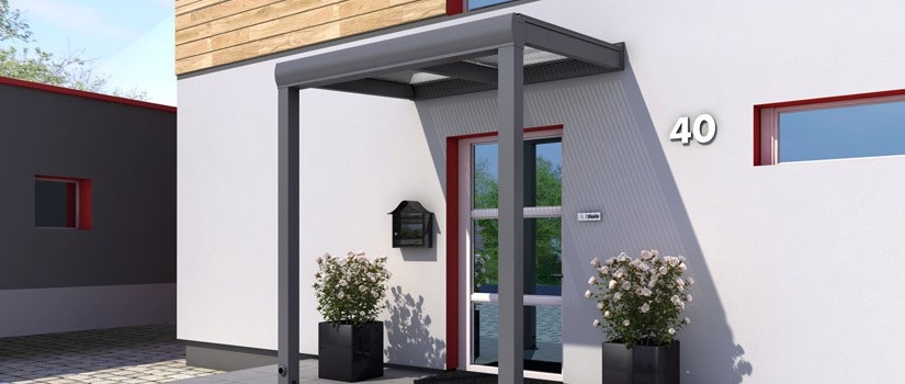 haust r vordach schutz vor wind wetter das rexin magazin. Black Bedroom Furniture Sets. Home Design Ideas