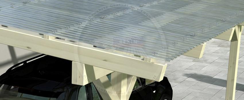 rexobasic holz carport 10 reduziert angebot des monats das rexin magazin. Black Bedroom Furniture Sets. Home Design Ideas