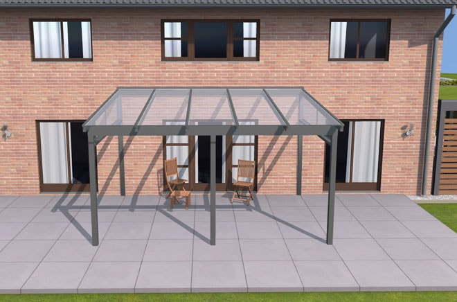 Terrassendach-Konfigurator - Ansicht