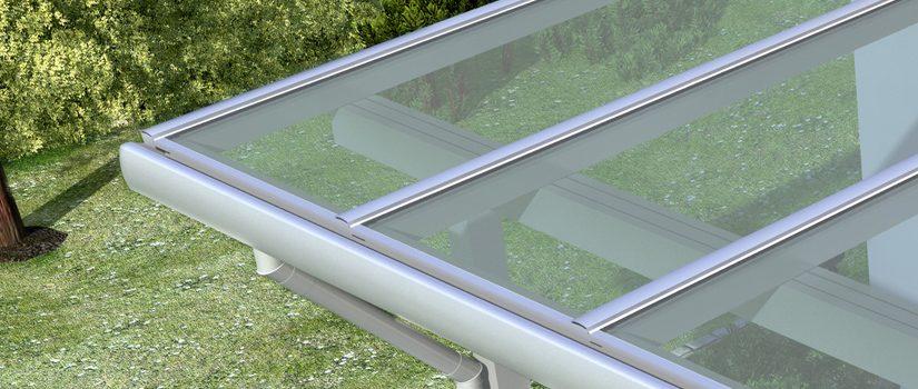 Alu-Terrassendach VSG-vorbereitet [Angebot des Monats]