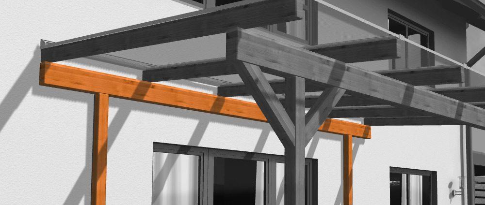 Ständerwerk Für Das Holz  Und Alu Terrassendach [Neu Im Shop]   Das Rexin  Magazin