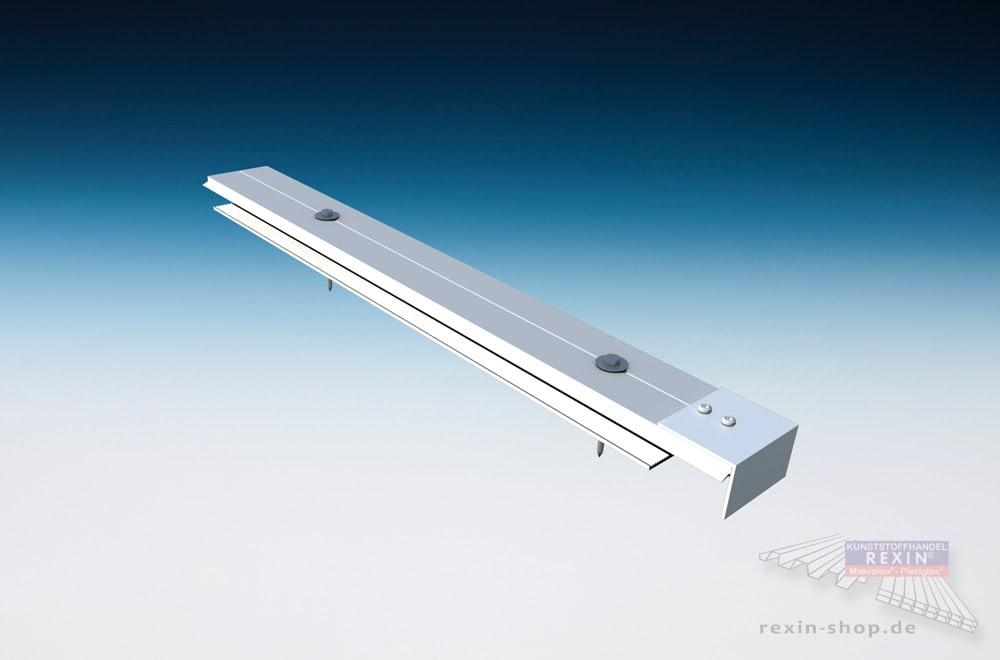 Verbinderprofile: Stegplatten professionell & sachgerecht montieren.