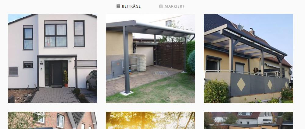 REXIN auf Instagram – schöne Terrassendächer entdecken