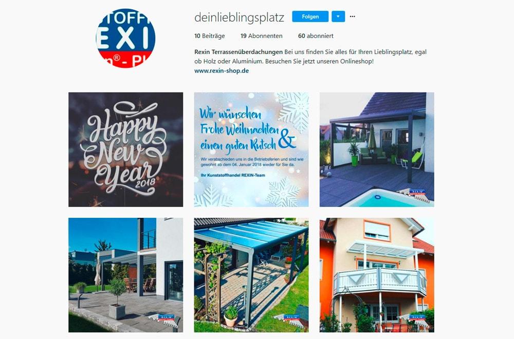 Schöne Terrassendächer entdecken - jetzt auch bei Instagram schöne Terrassendach-Bilder.