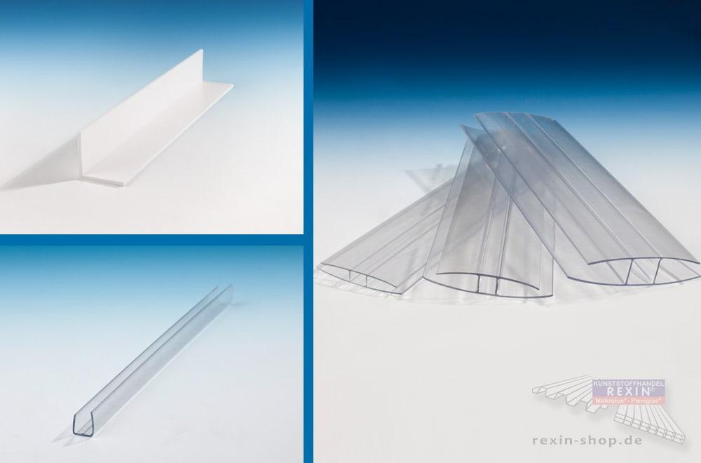Kunststoff-Profile - bei REXIN im April mit 10% Rabatt!