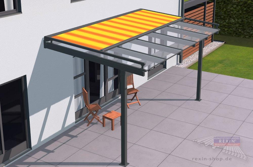 Markisen sind eine tolle Ergänzung für das Terrassendach. Welches Markisentuch soll man wählen?