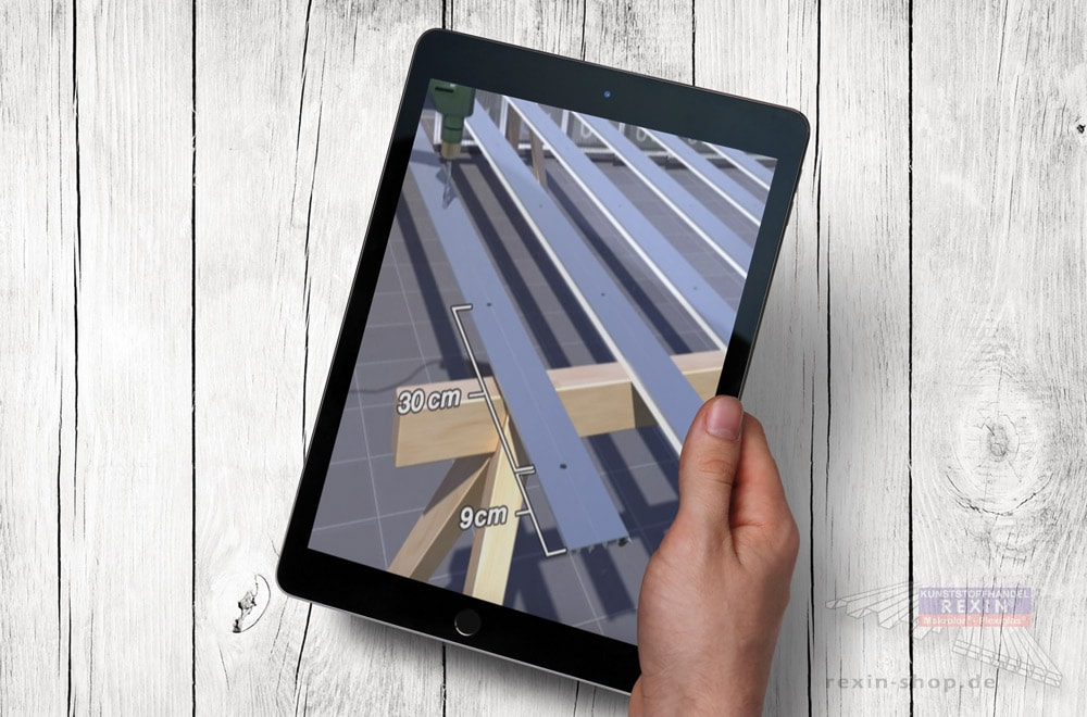 Das Terrassendach-Komplettpaket: Unsere Aufbauvideos gehen ins Detail.