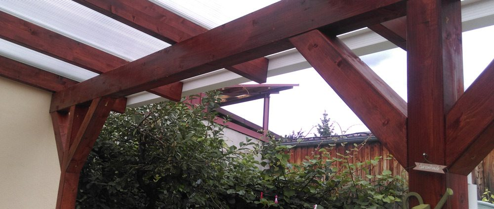 Terrassenüberdachung als Bausatz - Das Rexin Magazin