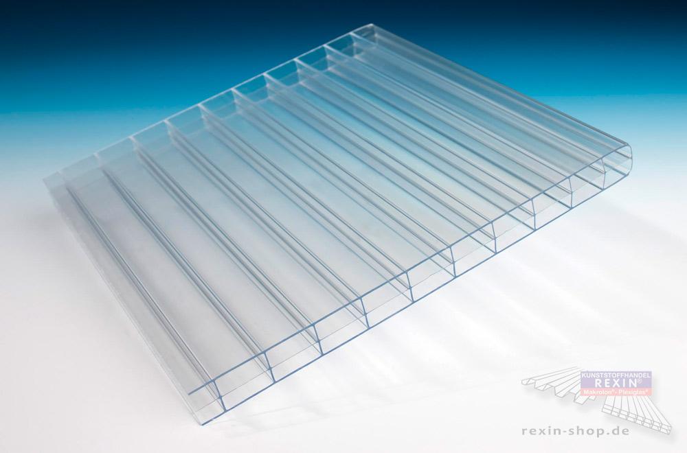 Transparente 16mm-Stegplatten sind sehr beliebt für die Terrassenüberdachung & den Carport.