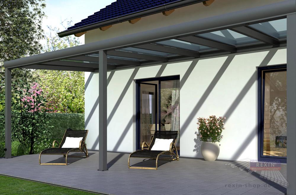 Nicht nur bei besonders breiten Terrassendächern wichtig: Die richtige Statik.