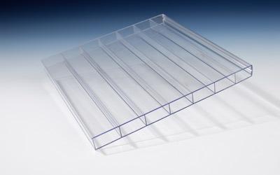 Stegplatten - ideal für die Dacheindeckung einer Terrassenüberdachung.