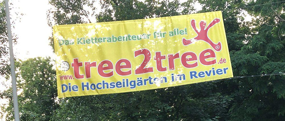 REXIN bei Tree2Tree – nur nicht nach unten schauen!