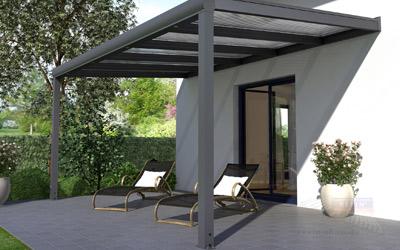 Sturmschäden vorbeugen: Terrassendächer aus hochwertigen Materialien zahlen sich aus!
