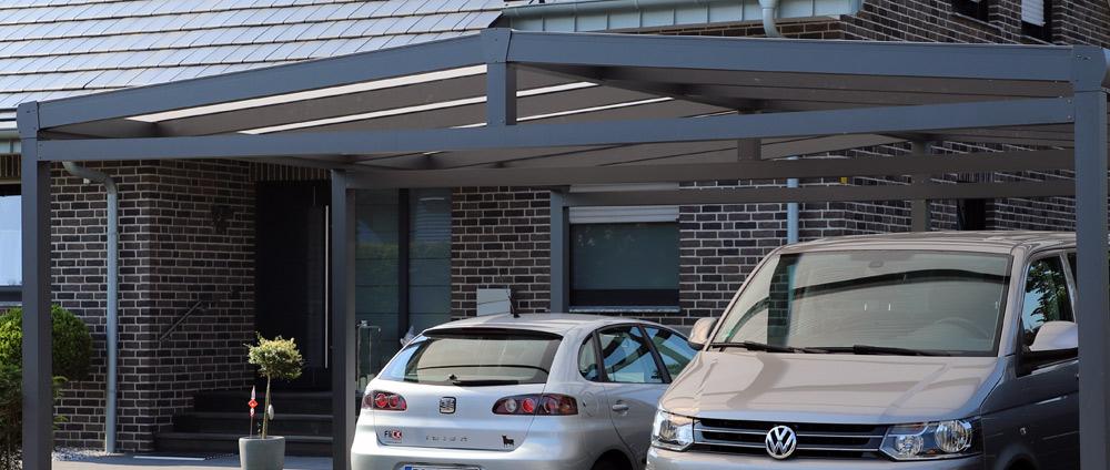 Carport für Wohnwagen & Caravan