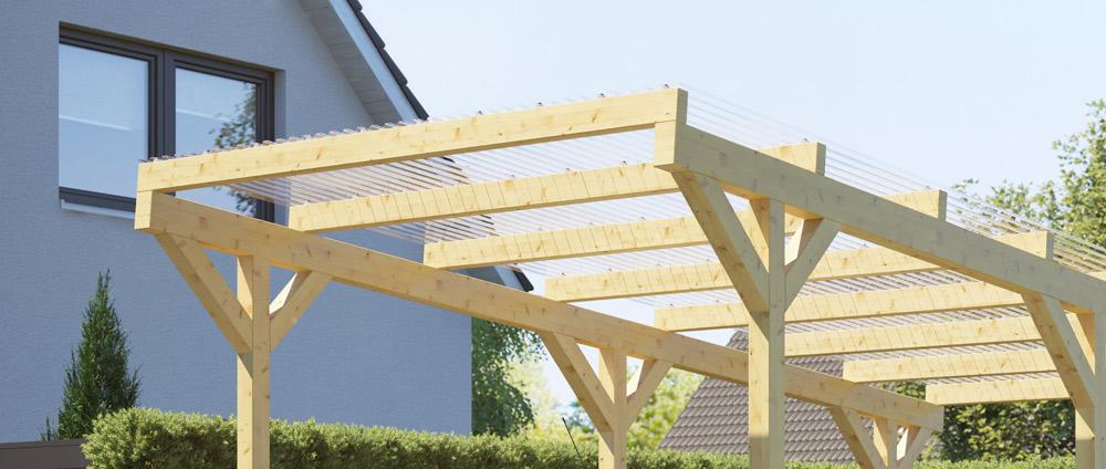 Freistehender Holz Carport Rexowood Das Rexin Magazin