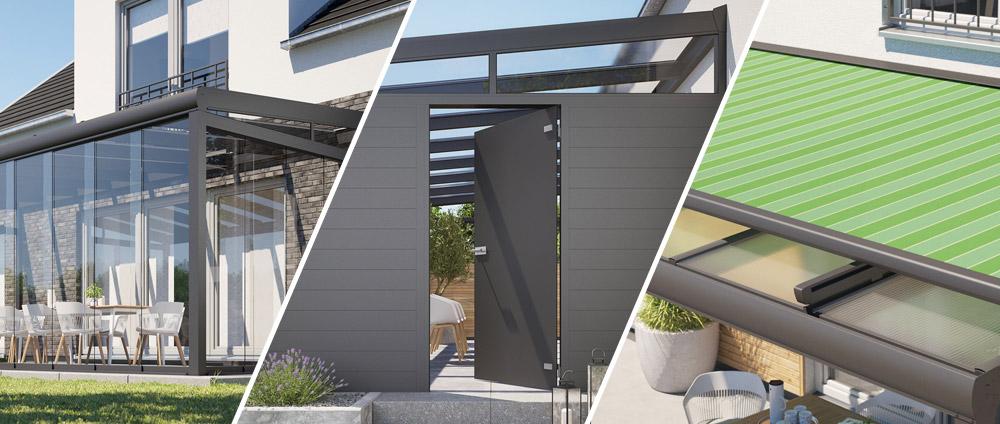 Terrassenüberdachungen erweitern - Die 10 besten Möglichkeiten