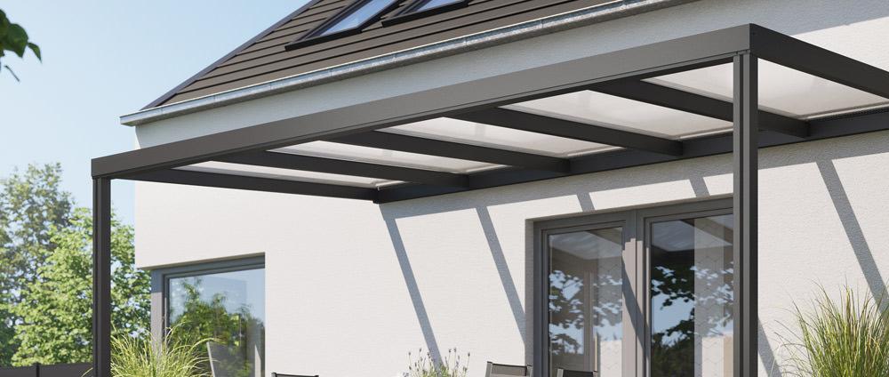 Alu-Terrassendach REXOconomy – Luxus zum Sparpreis!