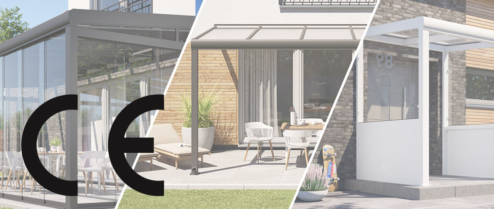 Die Architektur - Veranda