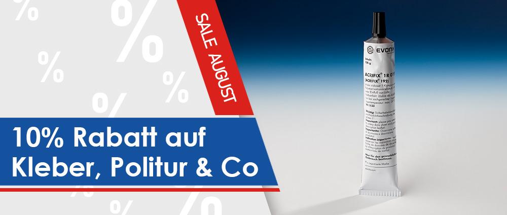 Kleber, Politur & Co. 10% reduziert [Angebot des Monats]