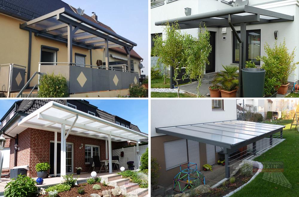 Alu-Terrassendach REXOclassic: ein Schmuckstück für den Garten.
