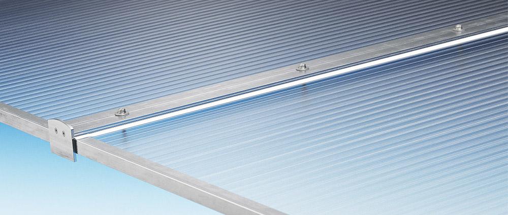 Terrassendach renovieren mit Stegplatten-Komplettpaket